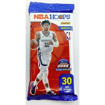 2020/21 Panini NBA Hoops Basketball Fat Pack