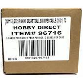 2020/21 Panini Impeccable Basketball Hobby 3-Box Case