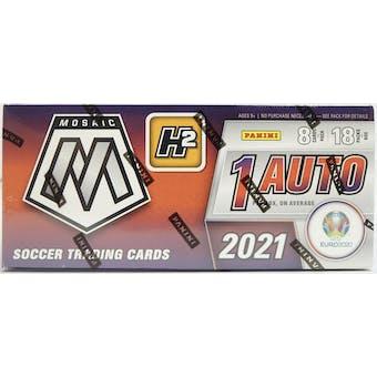 2020/21 Panini Mosaic UEFA Euro Soccer H2 Hobby Hybrid Box