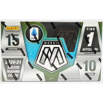 2020/21 Panini Mosaic Serie A Soccer Hobby Box