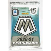 2020/21 Panini Mosaic Serie A Soccer Hobby Pack