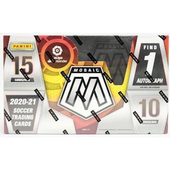 2020/21 Panini Mosaic La Liga Soccer Hobby Box