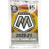 2020/21 Panini Mosaic La Liga Soccer Hobby Pack