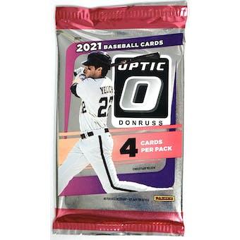 2021 Panini Donruss Optic Baseball Hobby Pack
