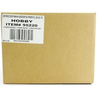 2020/21 Panini Prizm Premier League EPL Soccer Hobby 12-Box Case