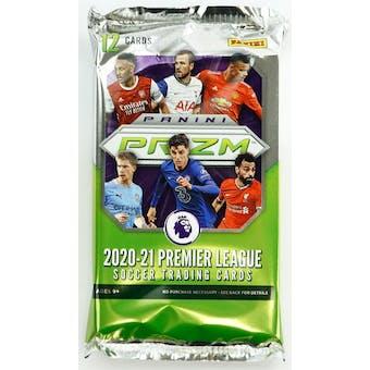 2020/21 Panini Prizm Premier League Soccer Hobby Pack