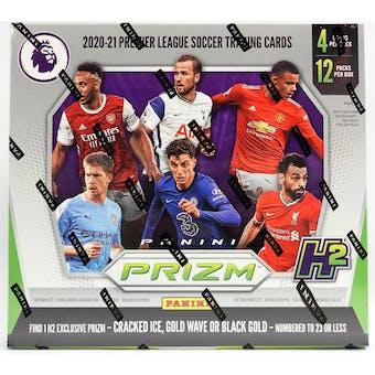 2020/21 Panini Prizm Premier League EPL Soccer H2 Hobby Hybrid Box