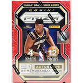 2020/21 Panini Prizm Basketball 12-Pack Blaster Box (Fanatics)
