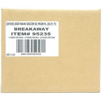 2020/21 Panini Prizm Premier League EPL Soccer Breakaway 20-Box Case