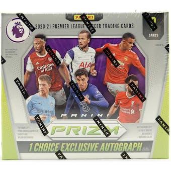 2020/21 Panini Prizm Premier League Soccer Hobby Choice Box