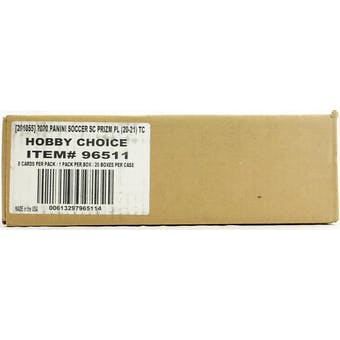 2020/21 Panini Prizm Premier League Soccer Hobby Choice 20-Box Case