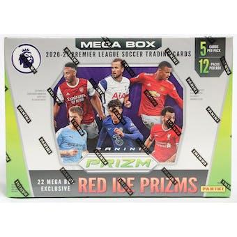 2020/21 Panini Prizm Premier League Soccer Mega Box (Red Ice Prizms)