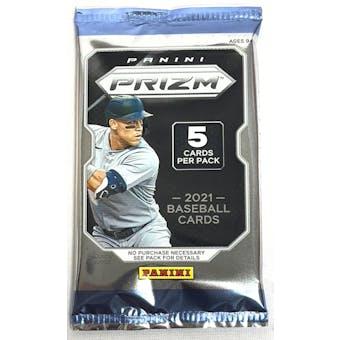 2021 Panini Prizm Quick Pitch Baseball Pack