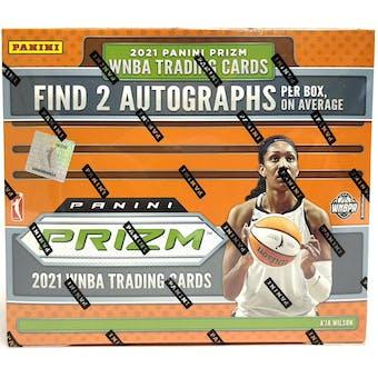 2021 Panini Prizm WNBA Basketball Hobby 1-Box- DACW Live 12 Spot Random Pack Break #1