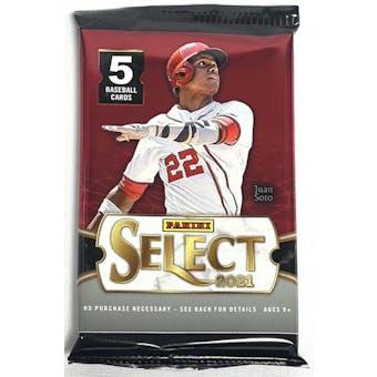 2021 Panini Select Baseball Hobby Pack