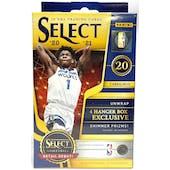 2020/21 Panini Select Basketball Hanger Box (Shimmer Prizms!)