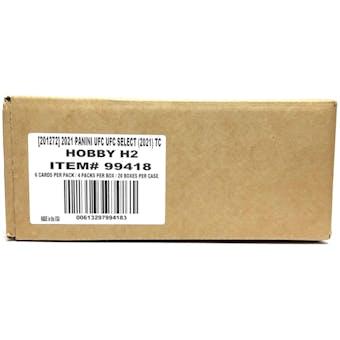 2021 Panini UFC Select H2 Hobby Hybrid 20-Box Case