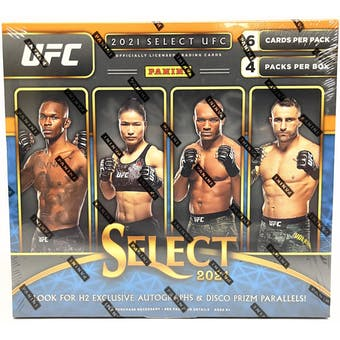 2021 Panini UFC Select H2 Hobby Hybrid Box