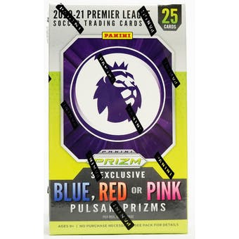 2020/21 Panini Prizm Premier League Soccer Cereal Box