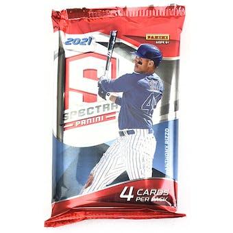 2021 Panini Spectra Baseball Hobby Pack