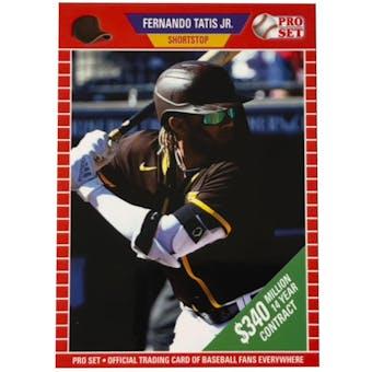 2021 Leaf Pro Set Fernando Tatis Jr. Variant Card