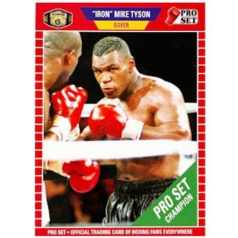 "2021 Leaf Pro Set ""Iron"" Mike Tyson Variant Card"