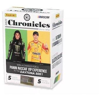 2021 Panini Chronicles Racing 5-Pack Blaster Box
