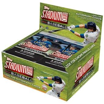 2021 Topps Stadium Club Baseball 24-Pack Retail Box