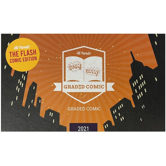 2021 Hit Parade The Flash Graded Comic Edition Hobby Box - Series 2 - 1ST SILVER AGE FLASH HIS OWN TITLE
