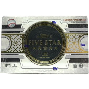 2021 Topps Five Star Baseball Hobby Box