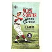 2021 Topps Allen & Ginter Baseball Hobby Pack