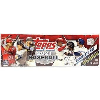 2021 Topps Factory Set Baseball Hobby (Box) (Red)