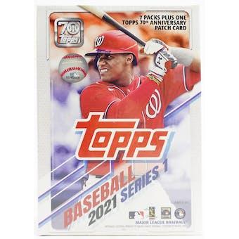 2021 Topps Series 1 Baseball 7-Pack Blaster Box
