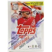 2021 Topps Series 1 Baseball 7-Pack Blaster Box (Royal Blue Parallels!)