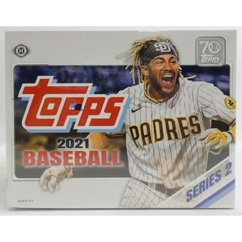 2021 Topps Series 2 Baseball Hobby Jumbo Box