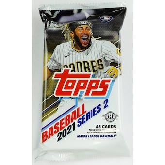2021 Topps Series 2 Baseball Hobby Jumbo Pack