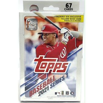 2021 Topps Series 1 Baseball Hanger Box (Yellow Base Parallels)