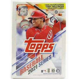 2021 Topps Series 1 Baseball 7-Pack Blaster Box (Bellinger Highlights Cards!)