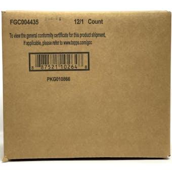 2021 Bowman Chrome Baseball HTA Choice 12-Box Case