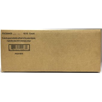 2021 Bowman Chrome Baseball Lite Hobby 16-Box Case (Black & White Mini-Diamond Parallels!)