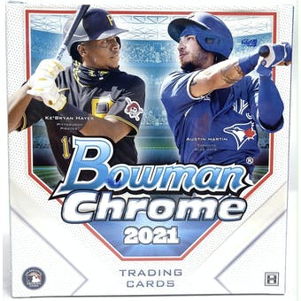 2021 Bowman Chrome Baseball Lite 4-Box- DACW Live 6 Spot Random Division Break #1