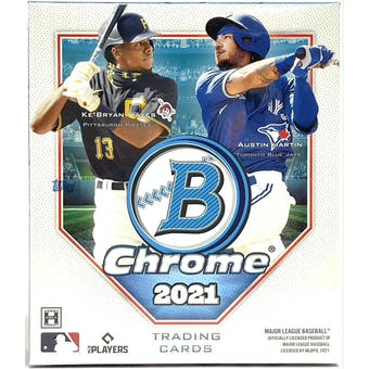 2021 Bowman Chrome Baseball Hobby Mini Box