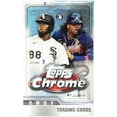 2021 Topps Chrome Baseball Hobby Lite Box
