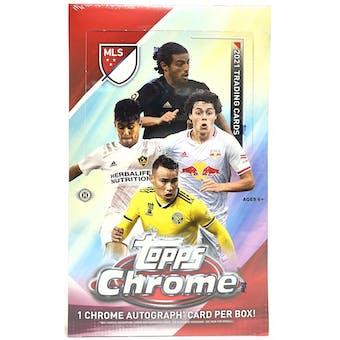 2021 Topps MLS Major League Soccer Chrome Hobby Box