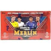 2020/21 Topps Merlin Chrome Soccer Hobby Box