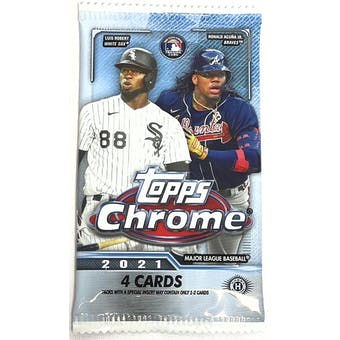 2021 Topps Chrome Baseball Hobby Pack