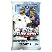 2021 Topps Chrome Baseball Hobby Jumbo Pack