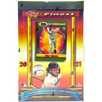 2021 Topps Finest Flashbacks Baseball Hobby Box