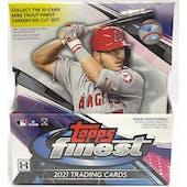 2021 Topps Finest Baseball Hobby 8-Box Case - DACW Live 6 Spot Random Division Break #3
