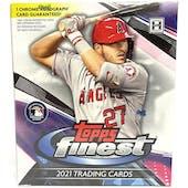 2021 Topps Finest Baseball Hobby Mini Box